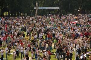 Msza na Jasnej Górze 14 sierpnia 2009 r.